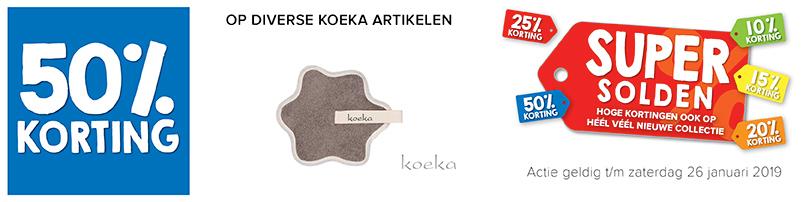 Voetenzak Koeka 50% Korting