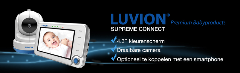 Luvion Supreme Connect Digitale Beeldbabyfoon