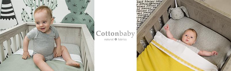 Cottonbaby  Wiegdekens Gevoerd