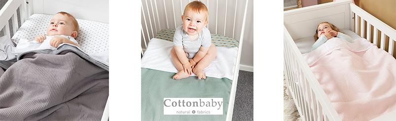 Cottonbaby  Wafel Mintgroen