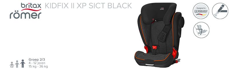 Römer Kidfix II XP Sict Black Serie