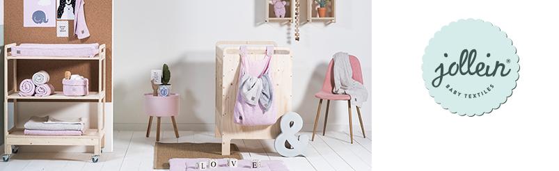 Jollein Confetti Knit Vintage Pink