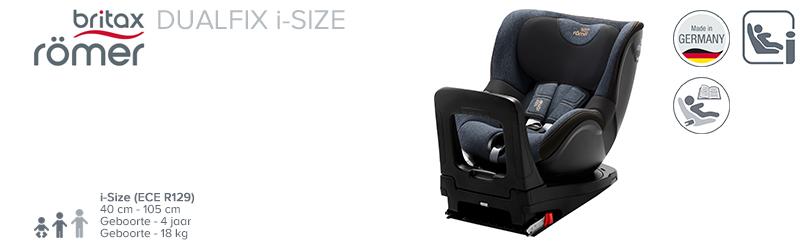 Römer Dualfix i-Size Marble Black Serie