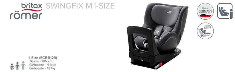 Römer Swingfix M i-Size Trendline Black Serie