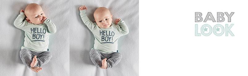 Babylook Broek Little Boss
