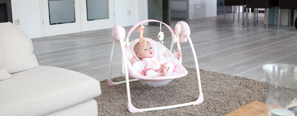 Ingenuity  Portable Swing Luxe