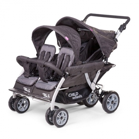 Childwheels Quadruple2 Autobrake Antraciet
