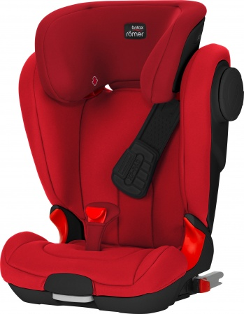 Römer Kidfix II XP SICT Flame Red Black Serie