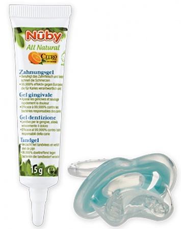 Nûby Tand-en Tandvleesgel 15Gr. + Bijtspeen