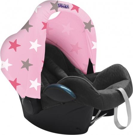 Dooky Hoody Pink / Pink Stars