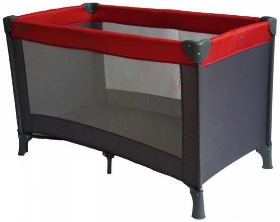 Qute Campingbed Q-Sleep Rood / Antra
