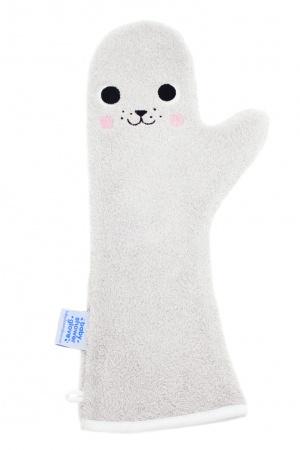 Invented 4 Kids Baby Shower Glove <br> Zeehond Grijs