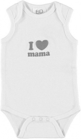 BD Collection Romper I Love Mama