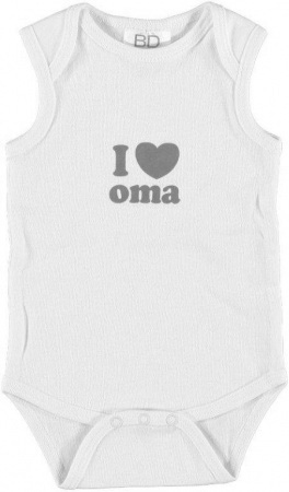 BD Collection Romper I Love Oma
