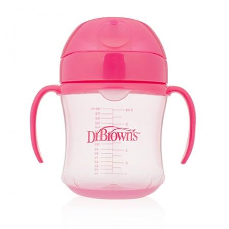 Dr. Brown's Drinkbeker Roze 180ml