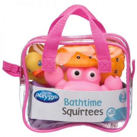 Playgro Bathtime Squirtees Pink