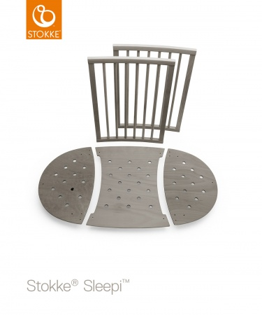 Sleepi™ Extension Kit Hazy Grey Exclusief Matras