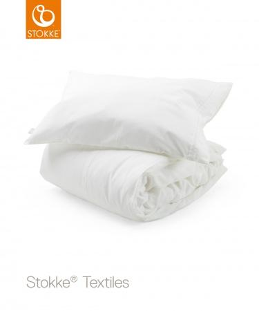 Stokke® Dekbedovertrek White <br> 100 x 135 cm