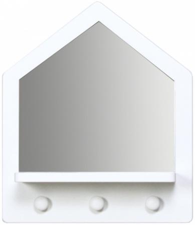 Bopita BabyFlex Wandrek Home Spiegel White
