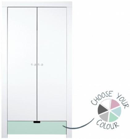 Bopita BabyFlex 2 Deuren Hanglegkast Medium White/Deep Grey