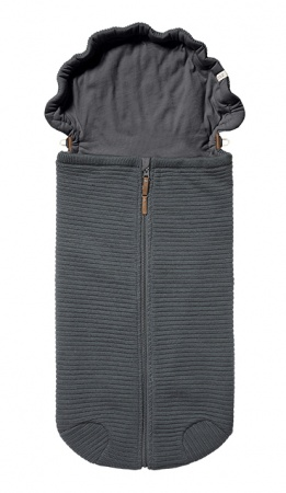 Joolz Essentials Nest Ribbed Anthracite