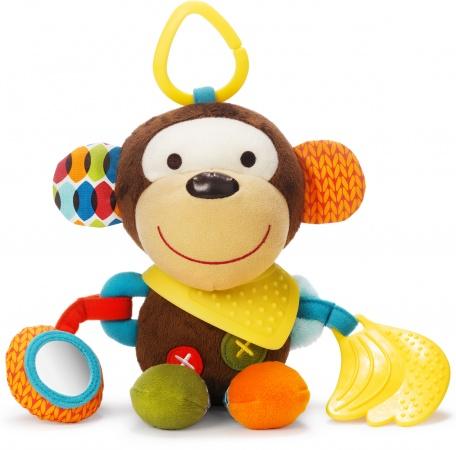 Skip Hop Bandana Buddies Puppet Activity Toy Monkey
