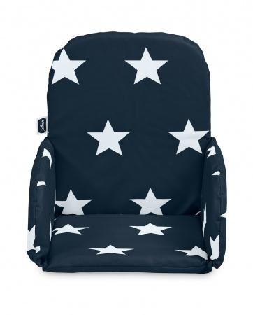 Jollein Stoelverkleiner Little Star Navy (plastic)