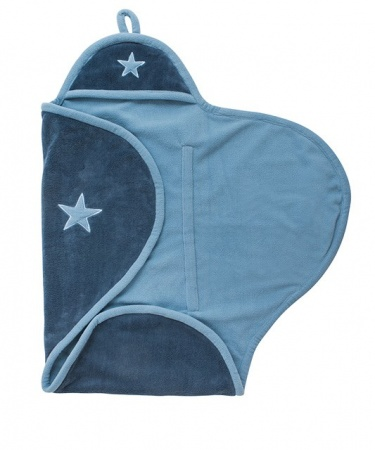 Jollein Wikkeldeken Star Vintage Blue