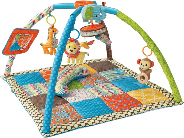 Infantino Go Gaga Deluxe Twist 'n Fold Gym & Play Boy