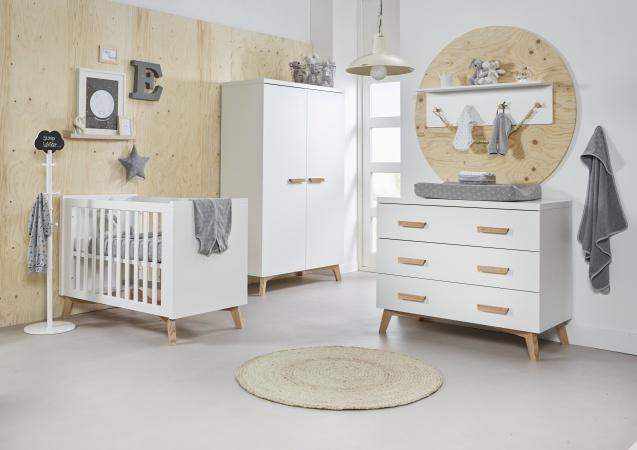 Hoogte Commode Babykamer : Ledikant 60 x 120 commode hanglegkast mika twf baby dump