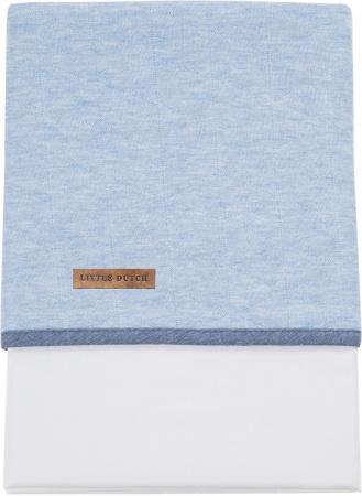 Little Dutch Laken Blue Melange<br> 70 x 100 cm