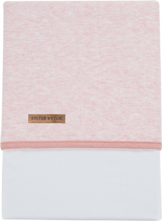 Little Dutch Laken Peach Melange<br> 70 x 100 cm