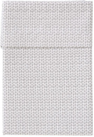 Cottonbaby Ledikantlaken Palma Grijs<br/ > 120 x 150 cm