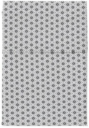 Cottonbaby Ledikantlaken Triangel Zwart/Wit<br/ > 120 x 150 cm