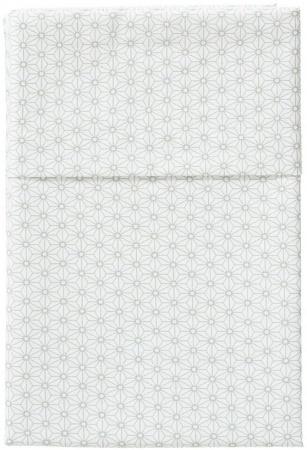 Cottonbaby Ledikantlaken Triangel Mint<br/ > 120 x 150 cm