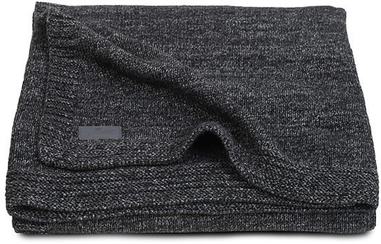 Jollein Deken Natural Knit Anthracite 100 x 150 cm