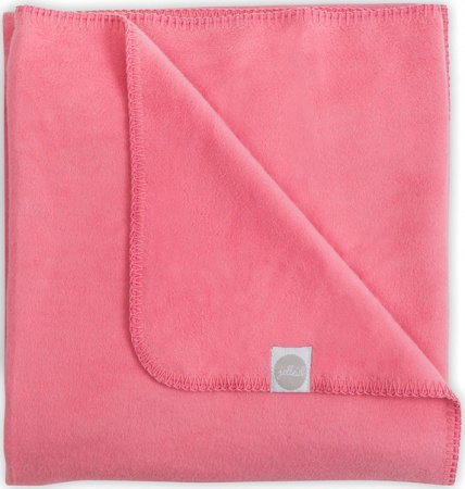 Jollein Deken Coral Pink<br> 75 x 100 cm