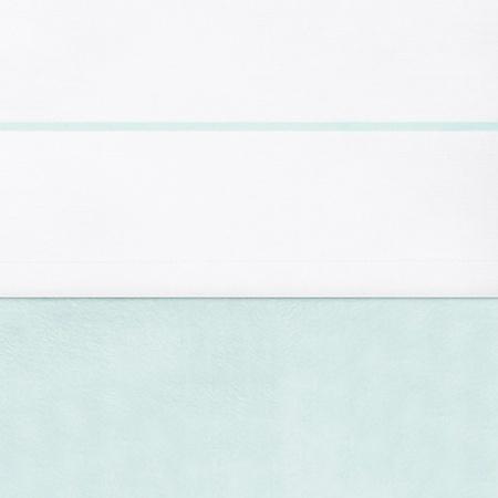 Jollein Laken Bies Wit/Jade <br> 75 x 100 cm