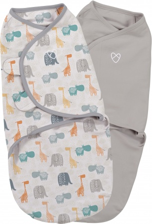 SwaddleMe Small 2-Pack<br> Bohemian Jungle