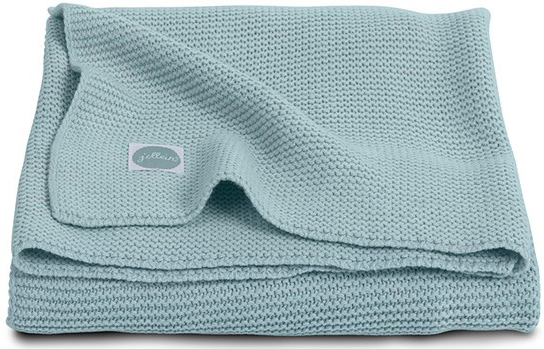 Jollein Deken Basic Knit Green 75 x 100 cm