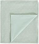 Cottonbaby Wiegdeken Gevoerd Driehoek Mint<br/ > 75 x 90 cm