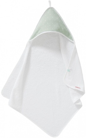 Cottonbaby Badcape Driehoek Mint