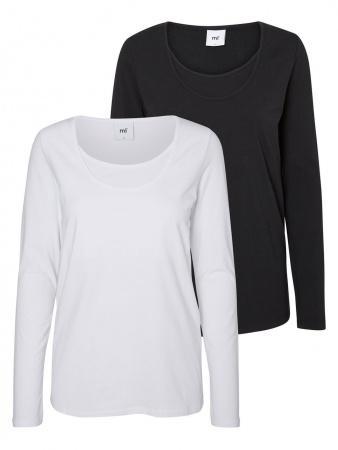 Mamalicious T-Shirt Lea Nell Black/Snow White