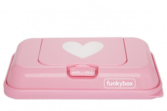 Funkybox To Go Roze Wit Hart
