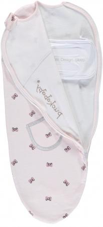 Puckababy Original Piep<br> Pink Bowy 0-3 mnd