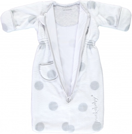 Puckababy Bag Newborn<br> Teddy White 0-6 mnd