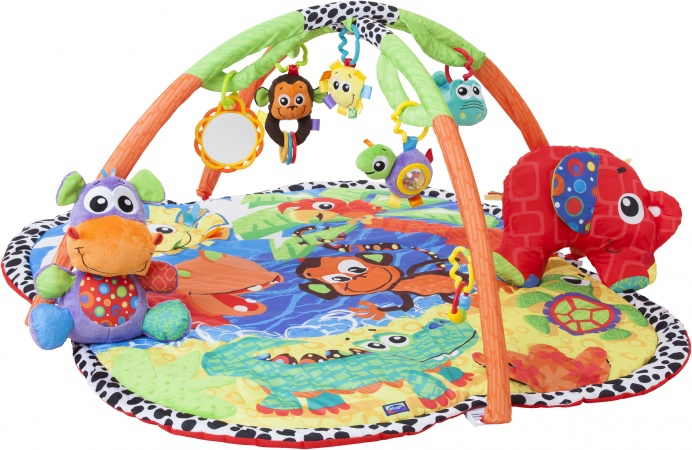 Playgro Jingle Jungle Music And Lights Activity Gym
