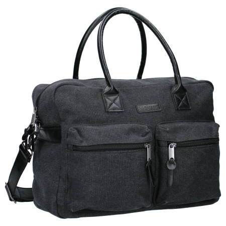 Kidzroom Diaperbag Vision Of Love <br> Femke Black