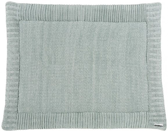 Meyco Boxkleed Silverline Relief Sage Green<br> 80 x 100 cm