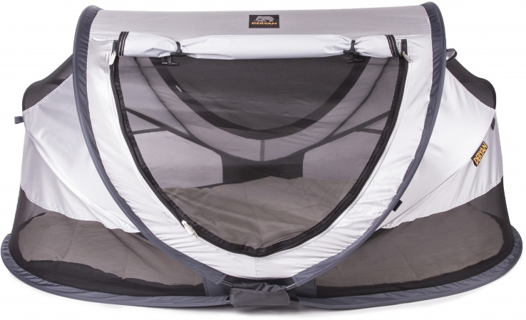 Deryan Travel-Cot <br>Peuter Luxe Silver